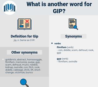 Gip, synonym Gip, another word for Gip, words like Gip, thesaurus Gip