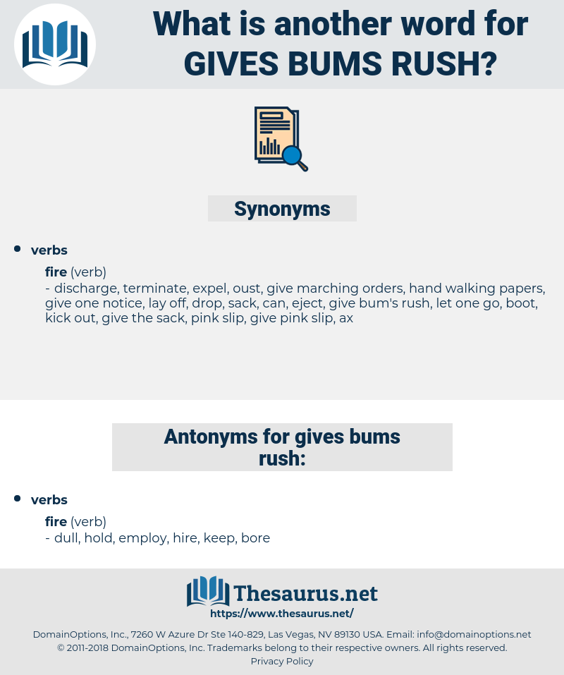 gives bums rush, synonym gives bums rush, another word for gives bums rush, words like gives bums rush, thesaurus gives bums rush
