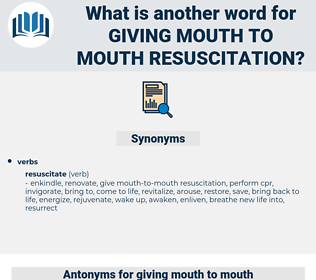 giving mouth to mouth resuscitation, synonym giving mouth to mouth resuscitation, another word for giving mouth to mouth resuscitation, words like giving mouth to mouth resuscitation, thesaurus giving mouth to mouth resuscitation