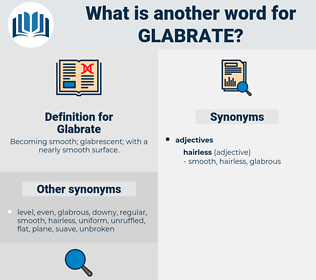 Glabrate, synonym Glabrate, another word for Glabrate, words like Glabrate, thesaurus Glabrate