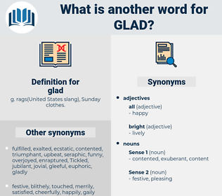 glad, synonym glad, another word for glad, words like glad, thesaurus glad