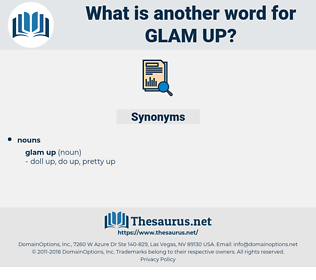 glam up, synonym glam up, another word for glam up, words like glam up, thesaurus glam up