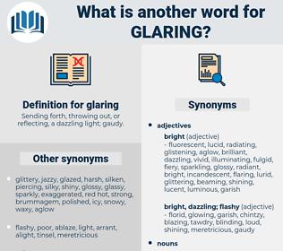 glaring, synonym glaring, another word for glaring, words like glaring, thesaurus glaring