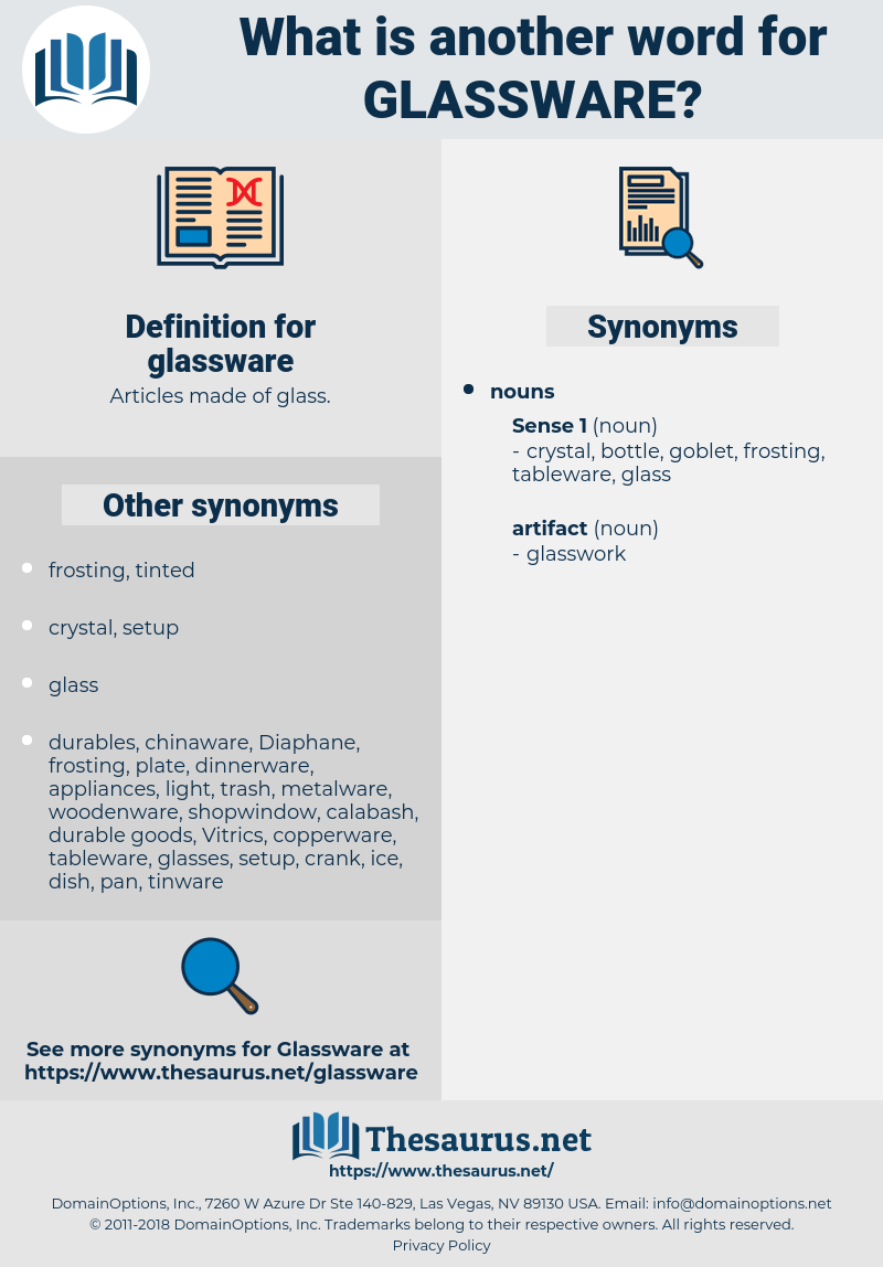 glassware, synonym glassware, another word for glassware, words like glassware, thesaurus glassware