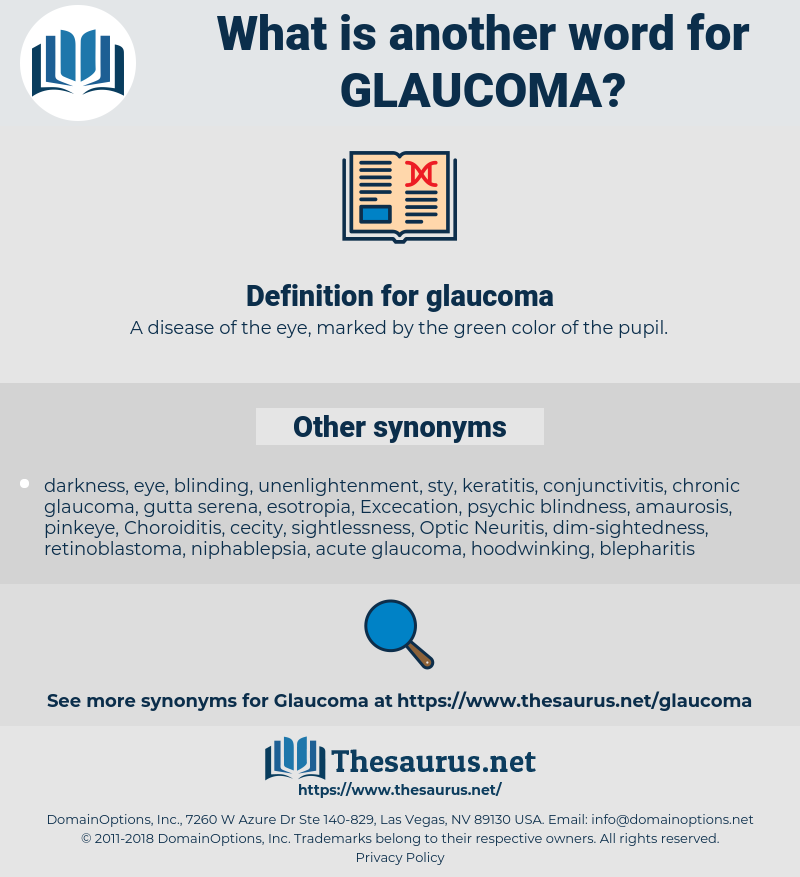 glaucoma, synonym glaucoma, another word for glaucoma, words like glaucoma, thesaurus glaucoma