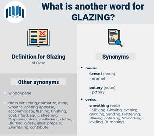 Glazing, synonym Glazing, another word for Glazing, words like Glazing, thesaurus Glazing