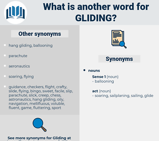 gliding, synonym gliding, another word for gliding, words like gliding, thesaurus gliding