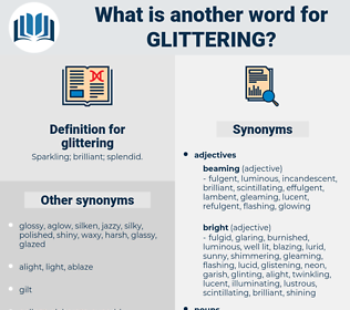 glittering, synonym glittering, another word for glittering, words like glittering, thesaurus glittering