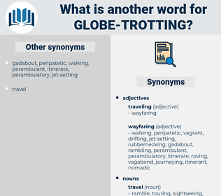 globe-trotting, synonym globe-trotting, another word for globe-trotting, words like globe-trotting, thesaurus globe-trotting