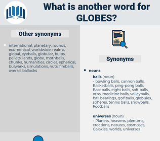 globes, synonym globes, another word for globes, words like globes, thesaurus globes