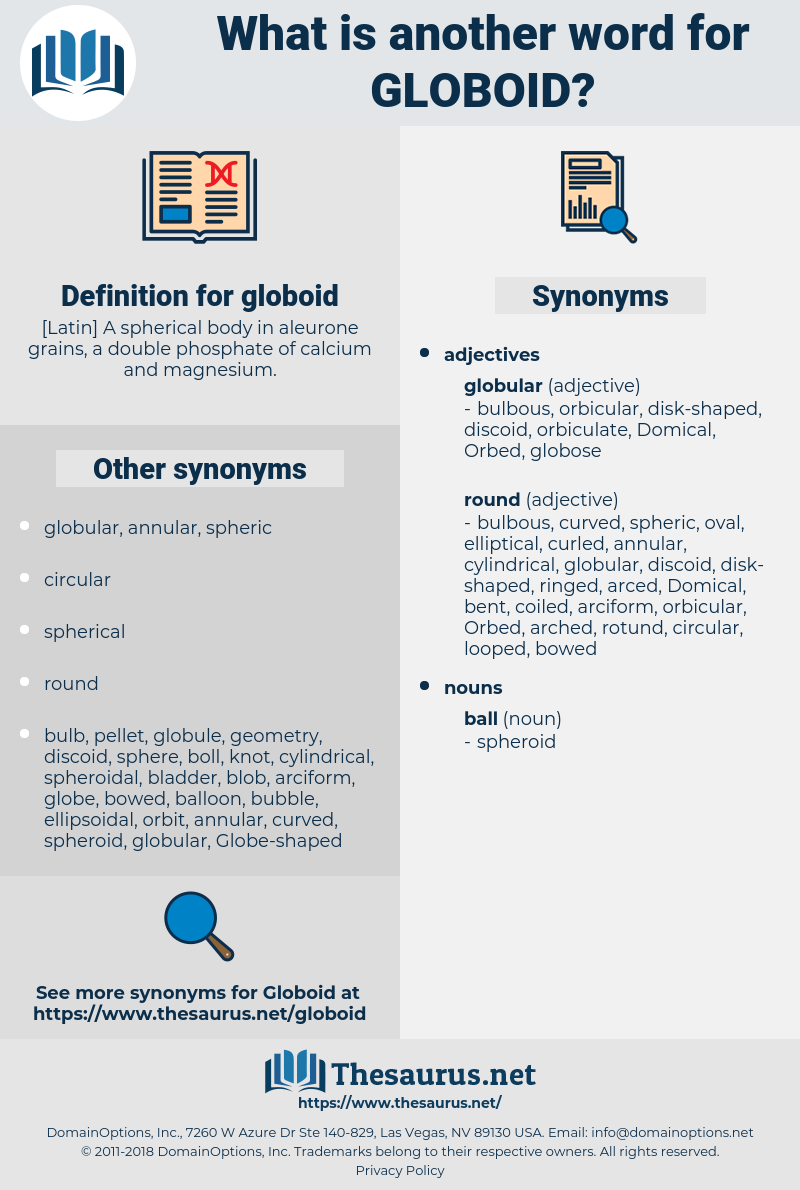 globoid, synonym globoid, another word for globoid, words like globoid, thesaurus globoid