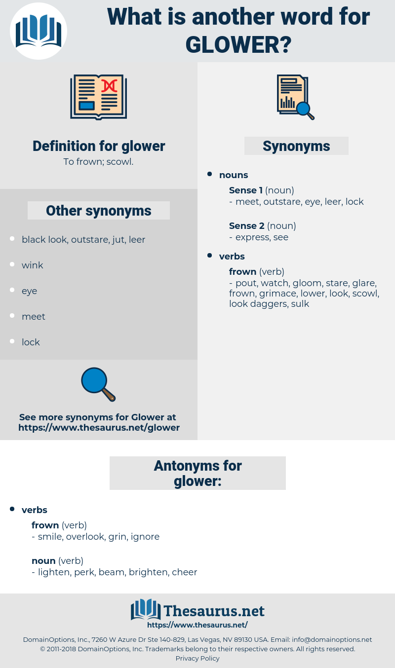 glower, synonym glower, another word for glower, words like glower, thesaurus glower