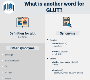 glut, synonym glut, another word for glut, words like glut, thesaurus glut