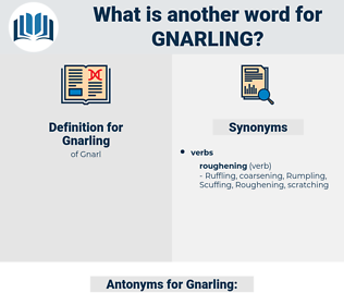 Gnarling, synonym Gnarling, another word for Gnarling, words like Gnarling, thesaurus Gnarling