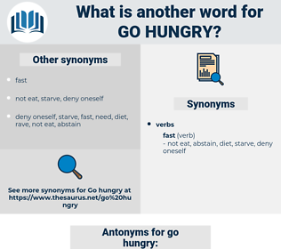 go hungry, synonym go hungry, another word for go hungry, words like go hungry, thesaurus go hungry