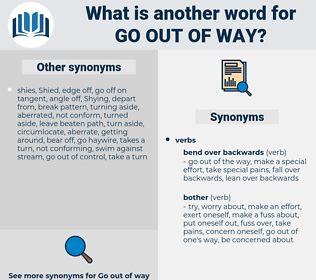 go out of way, synonym go out of way, another word for go out of way, words like go out of way, thesaurus go out of way