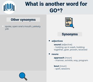 go, synonym go, another word for go, words like go, thesaurus go