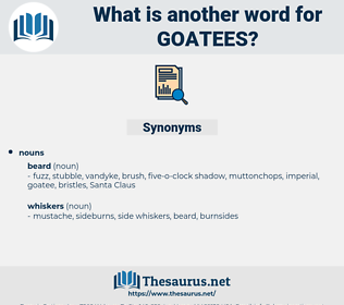 goatees, synonym goatees, another word for goatees, words like goatees, thesaurus goatees