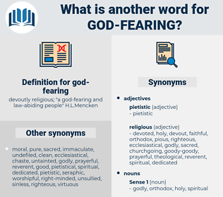 god fearing, synonym god fearing, another word for god fearing, words like god fearing, thesaurus god fearing