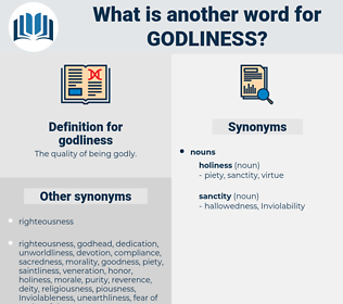 godliness, synonym godliness, another word for godliness, words like godliness, thesaurus godliness