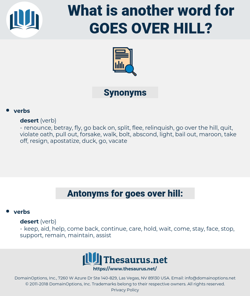 goes over hill, synonym goes over hill, another word for goes over hill, words like goes over hill, thesaurus goes over hill