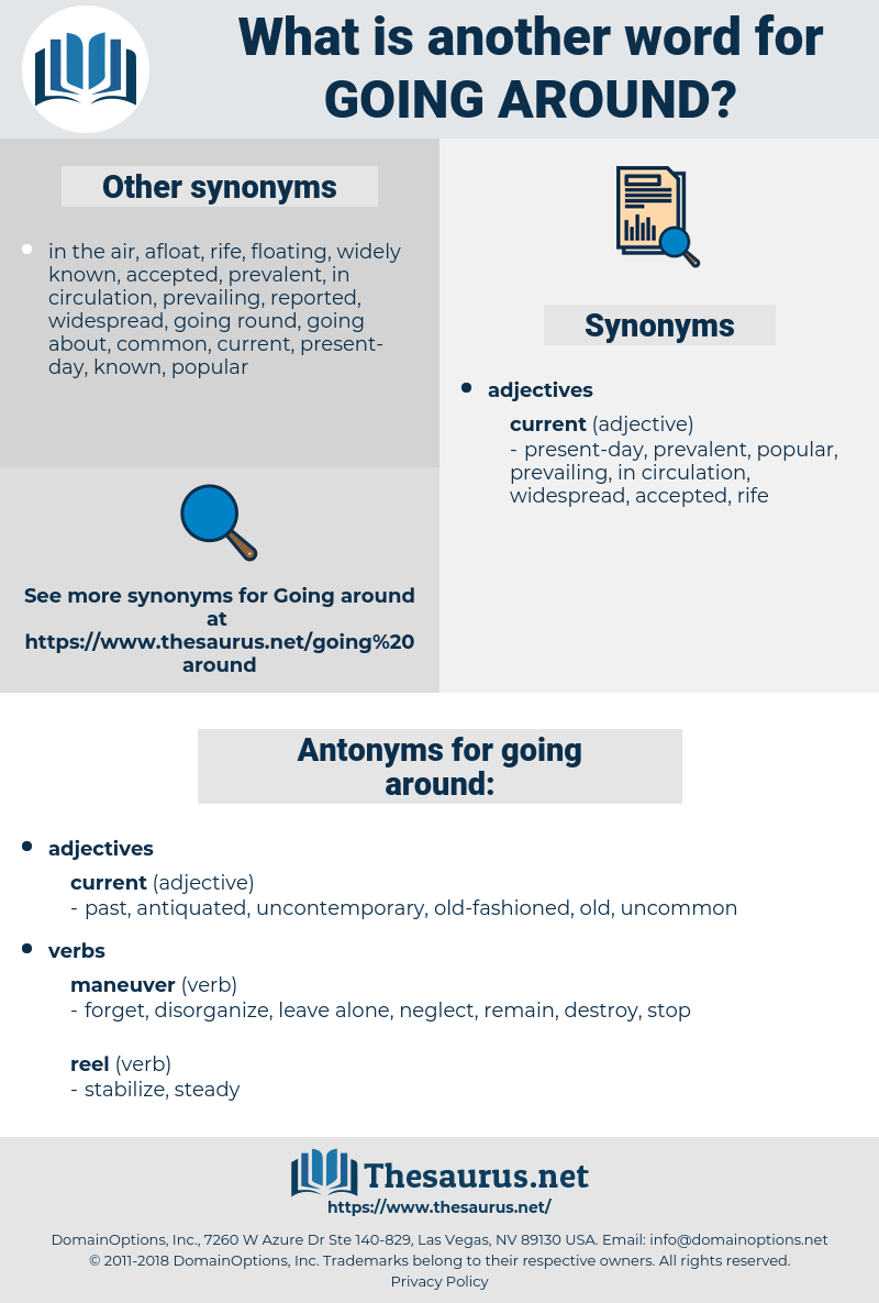 Synonyms For Going Around Antonyms For Going Around Thesaurus Net