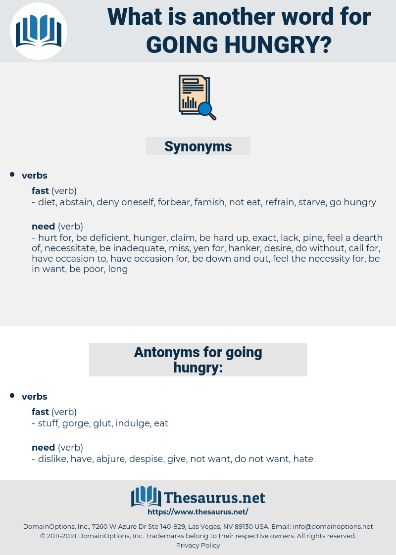going hungry, synonym going hungry, another word for going hungry, words like going hungry, thesaurus going hungry