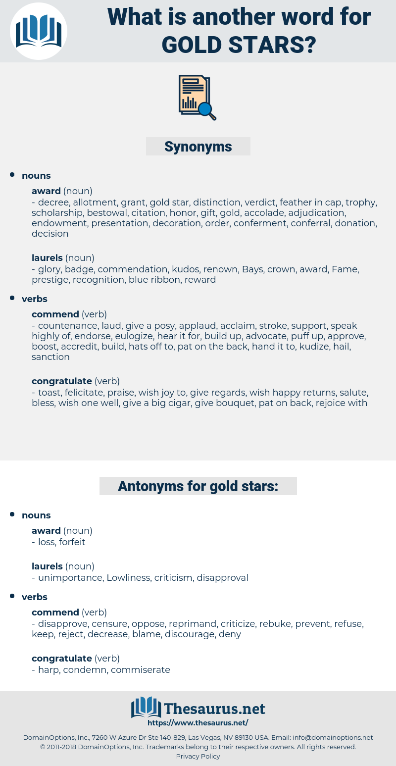 gold stars, synonym gold stars, another word for gold stars, words like gold stars, thesaurus gold stars