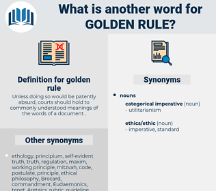 golden rule, synonym golden rule, another word for golden rule, words like golden rule, thesaurus golden rule