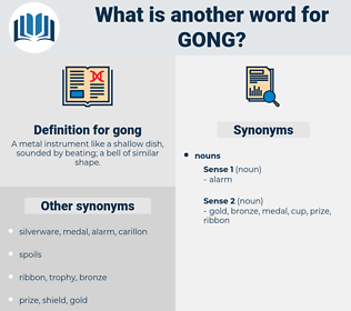 gong, synonym gong, another word for gong, words like gong, thesaurus gong