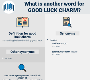 good luck charm, synonym good luck charm, another word for good luck charm, words like good luck charm, thesaurus good luck charm