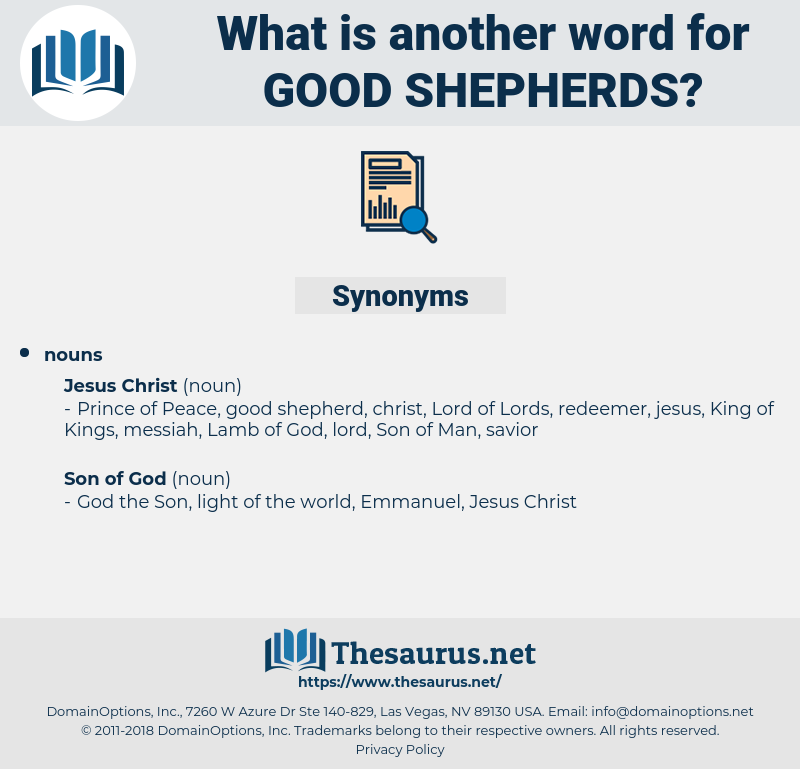 good shepherds, synonym good shepherds, another word for good shepherds, words like good shepherds, thesaurus good shepherds