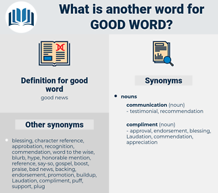 good word, synonym good word, another word for good word, words like good word, thesaurus good word