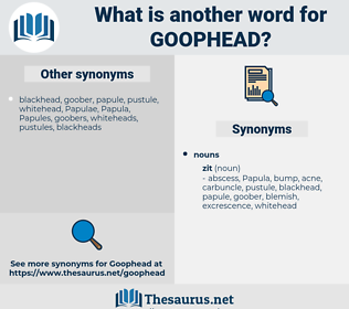 goophead, synonym goophead, another word for goophead, words like goophead, thesaurus goophead