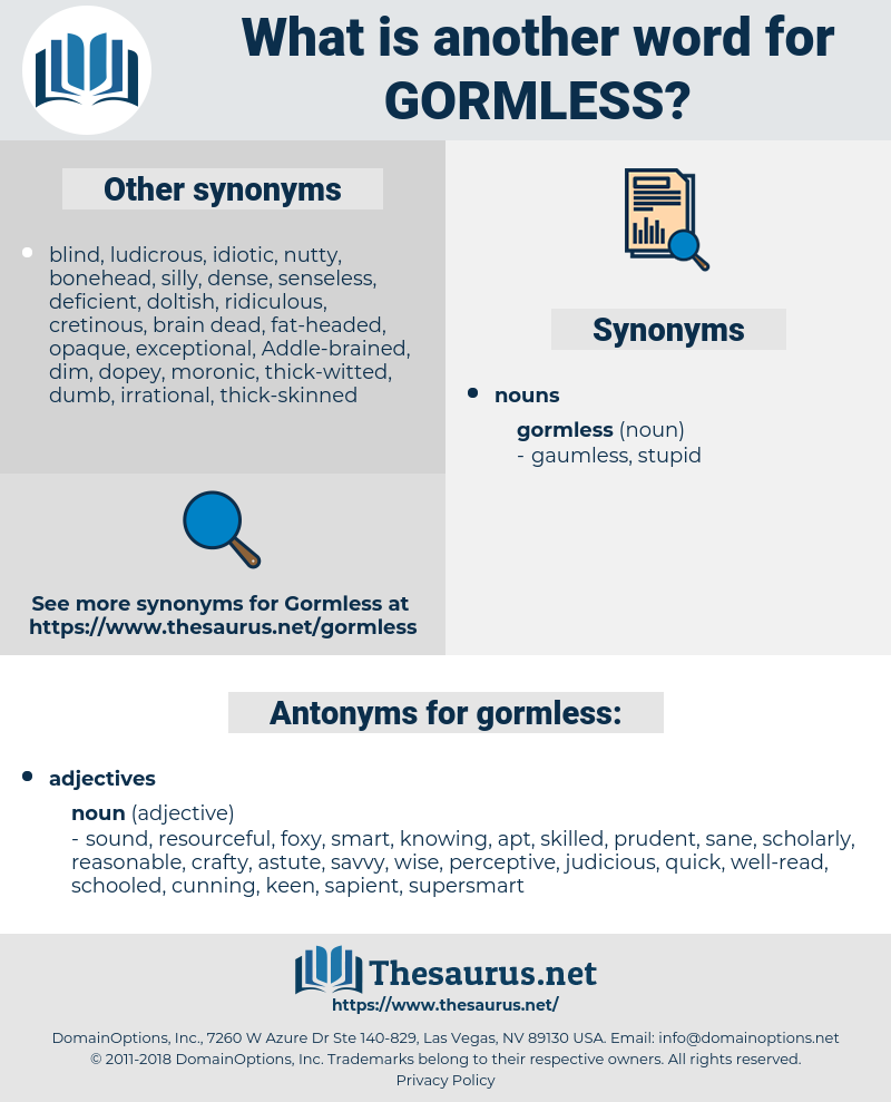 gormless, synonym gormless, another word for gormless, words like gormless, thesaurus gormless