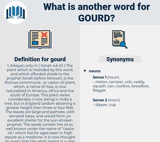 gourd, synonym gourd, another word for gourd, words like gourd, thesaurus gourd