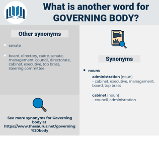 governing body, synonym governing body, another word for governing body, words like governing body, thesaurus governing body