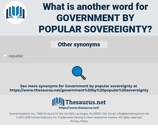 government by popular sovereignty, synonym government by popular sovereignty, another word for government by popular sovereignty, words like government by popular sovereignty, thesaurus government by popular sovereignty