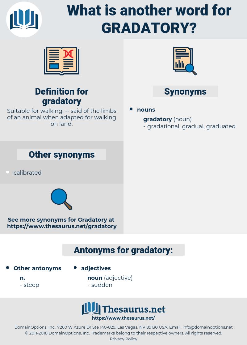 gradatory, synonym gradatory, another word for gradatory, words like gradatory, thesaurus gradatory
