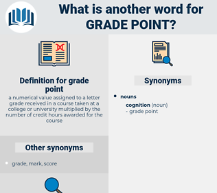 grade point, synonym grade point, another word for grade point, words like grade point, thesaurus grade point