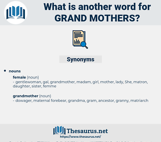 grand-mothers, synonym grand-mothers, another word for grand-mothers, words like grand-mothers, thesaurus grand-mothers