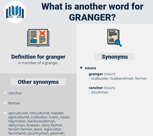 granger, synonym granger, another word for granger, words like granger, thesaurus granger