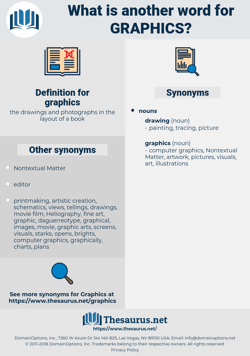 graphics, synonym graphics, another word for graphics, words like graphics, thesaurus graphics