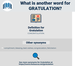 Gratulation, synonym Gratulation, another word for Gratulation, words like Gratulation, thesaurus Gratulation