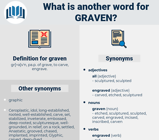 graven, synonym graven, another word for graven, words like graven, thesaurus graven