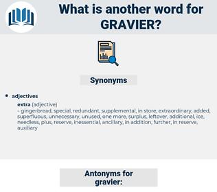 gravier, synonym gravier, another word for gravier, words like gravier, thesaurus gravier