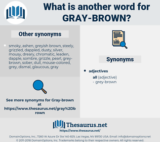 gray-brown, synonym gray-brown, another word for gray-brown, words like gray-brown, thesaurus gray-brown