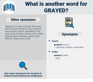 grayed, synonym grayed, another word for grayed, words like grayed, thesaurus grayed