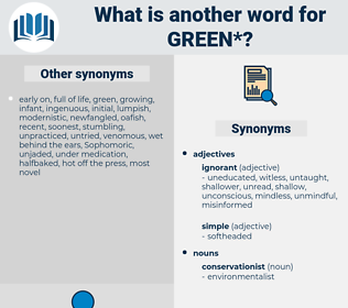 green, synonym green, another word for green, words like green, thesaurus green