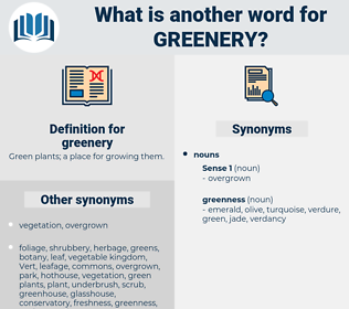 greenery, synonym greenery, another word for greenery, words like greenery, thesaurus greenery